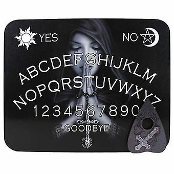 Gotische gebed Ouija bord