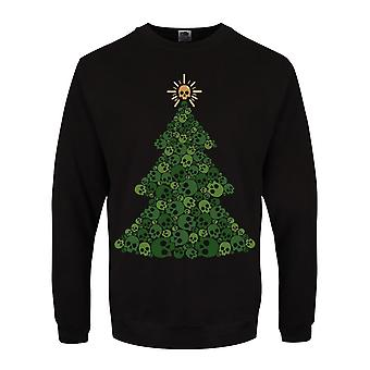 Grindstore miesten Skully Tree Christmas jumpperi