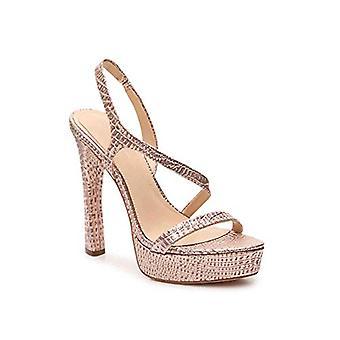 Imagine Vince Camuto Women's Prent Heeled Sandal, Rose Gold, 8 Medium US
