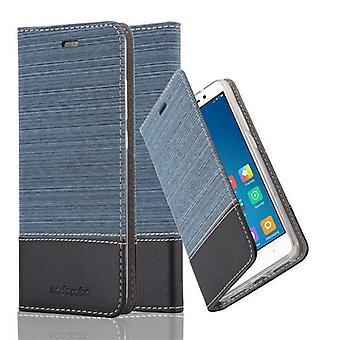 Cadorabo Sag for Xiaomi RedMi Note 4 sag dække - Telefon sag med magnetisk lås, stå funktion og kortrum - Sag Cover Beskyttende sagbog Foldestil