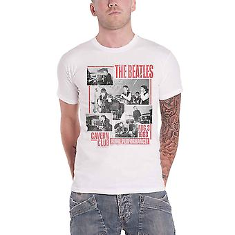 Il Beatles T Shirt Final Performance cavern club nuovo ufficiale mens bianco