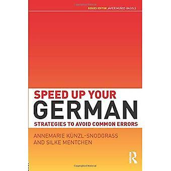 Beschleunigen Sie Ihr Deutsch: Strategien, häufige Fehler zu vermeiden