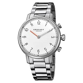 Kronaby S0710-1 Women's Nord Smartwatch With Steel Bracelet