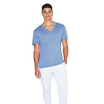 American Apparel Unisex Tri-Blend V-kaula-aukko T-paita