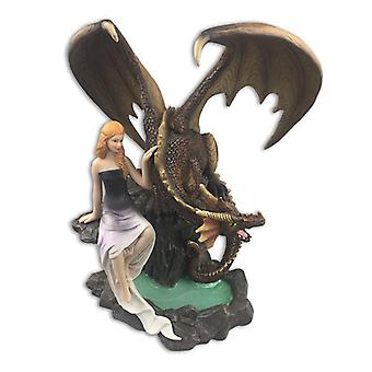 Dragons of Destiny Resin Plaque
