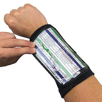 Quarterback Playbook Wristband, 6.5