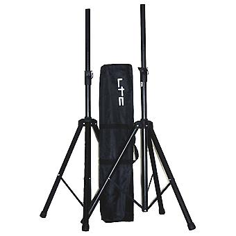 Ibiza Sound Ss01b Speaker Stand Kit (2 Stands And Bag)