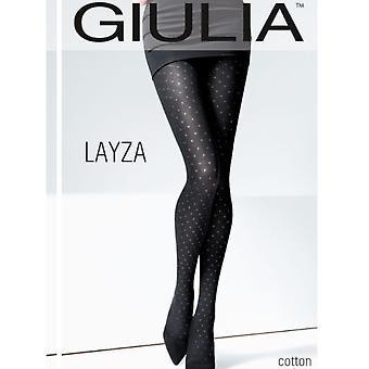 Giulia Layza Spotty Cotton Tights - Hosiery Outlet