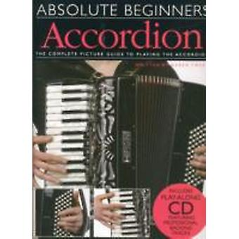 Absolute Beginners  Accordion BookCD
