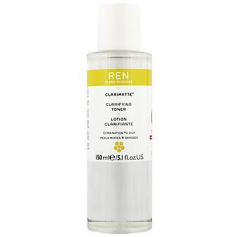 Ren clean Skin Care clarimatte Toner ter verduidelijking 150ml