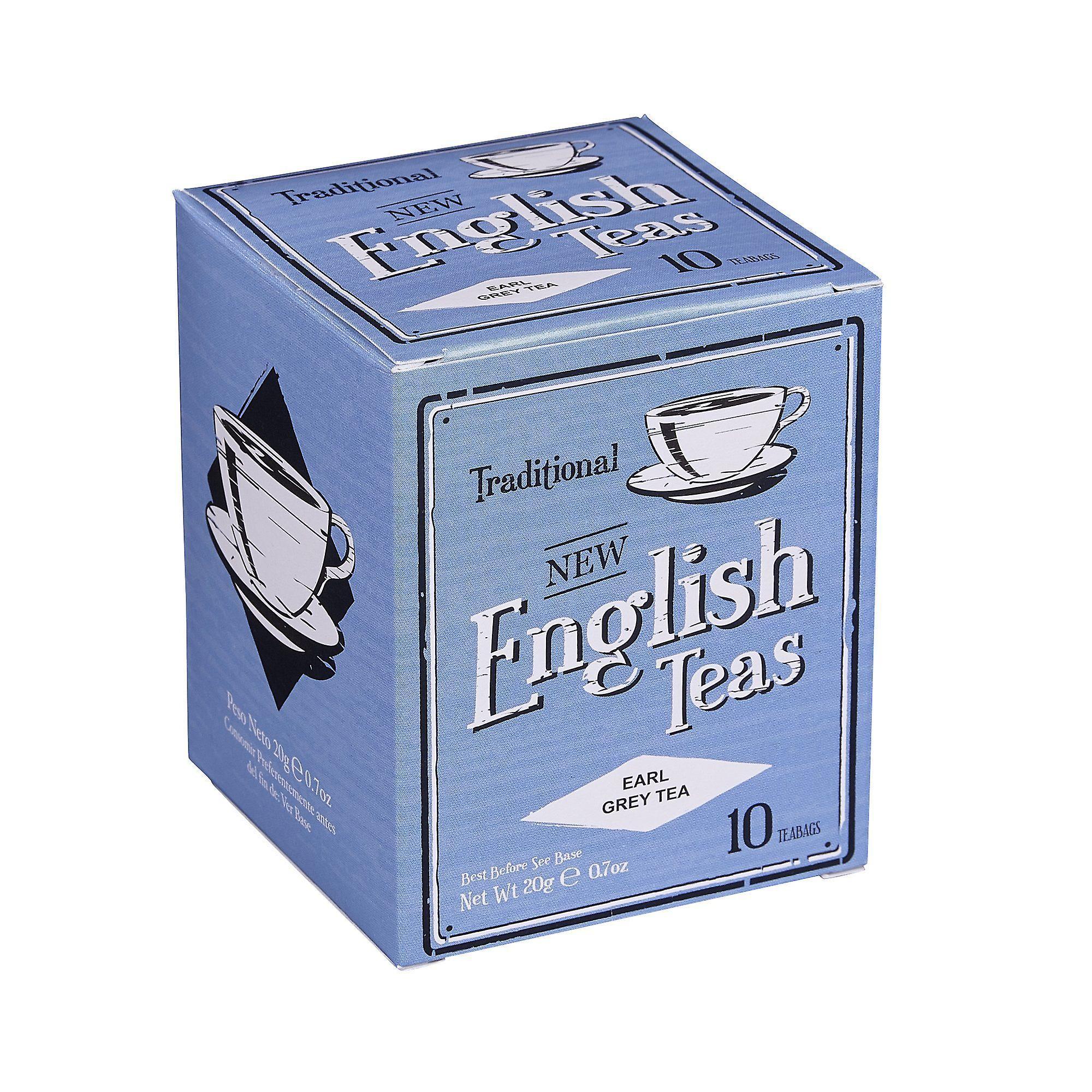 Vintage earl grey tea 10 teabag carton