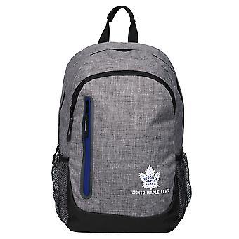 FOCO Backpack NHL Rucksack - GREY Toronto Maple Leafs