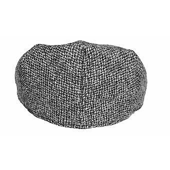Mens Ladies Unisex Genuine Hand Woven Harris Tweed Wool British Made Flat Cap