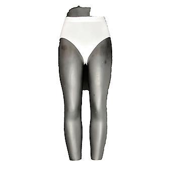 Unbranded Panties Elastic Waist Brief Winter White