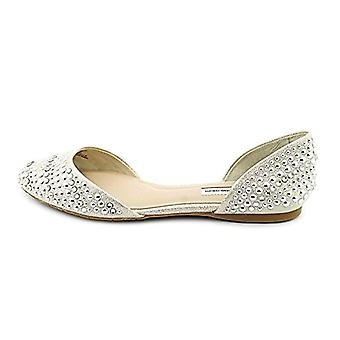 INC International Concepts Womens CRESCENT Fabric Pointed Toe Slide Flats