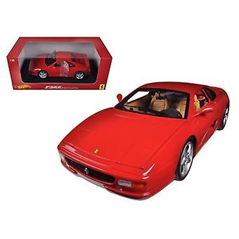 Ferrari F355 Berlinetta Coupe Red 1/18 Diecast Car Modelo Por Hotwheels
