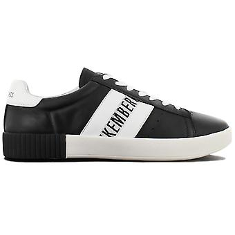 Bikkembergs Cosmos 2434 BKE109350 Men's Shoes Black Sneakers Sports Shoes