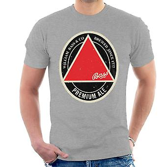 Bass Red Triangle Label Men's T-Shirt