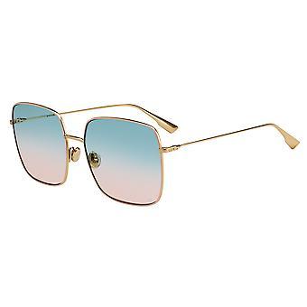 Dior Stellaire 1 EYR/8Z kulta vaaleanpunainen/vihreä kaltevuus aurinkolasit