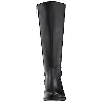 Blondo Womens Evie Leather Closed Toe Knee High Fashion Boots
