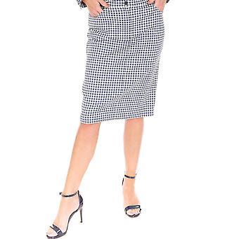 EUGEN KLEIN Eugen Klein Blue And White Check Skirt 4720 01554
