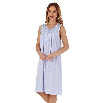 Slenderella ND55101 Frauen's Floral Baumwolle Nachthemd