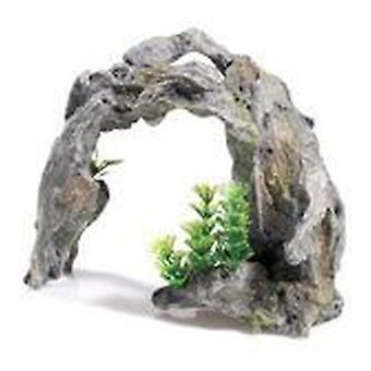 Classic For Pets Driftwood Arch/Plant 2pcs (Fish , Decoration , Rocks & Caves)