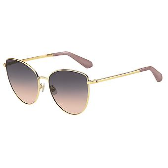 Kate Spade Dulce/G/S 35J/FF Pink/Grey-Fuxhsia Sunglasses