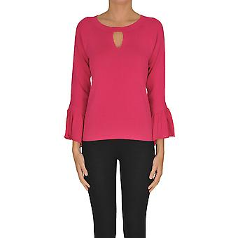 Nenette Ezgl266113 Women's Fuchsia Viscose Sweater