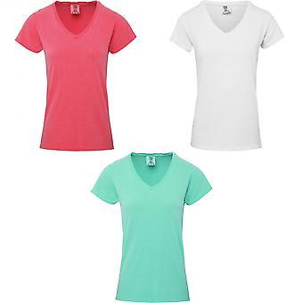 Comfort Colors Womens/Ladies V Neck Tee