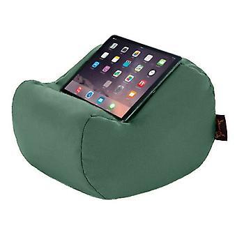 Giardinierista Resistente all'acqua all'aperto Supporto per Tablet A forma di Rotondo Cuscino per laptop Falò di polistirolo riempito Verde