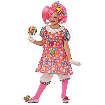 Pikku ostokset pelle Circus syntymäpäivät hauska tytöt puku