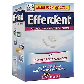 Efferdent original tablet, 126 ea