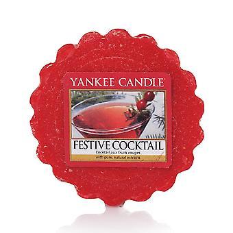 Yankee Candle Wax Tart Melt Festive Cocktail