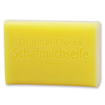 Sabão de leite florex sheep 's milk - limão - Great Fresh Citrus Fragrância Refresca aperta e purifica a pele 100 g