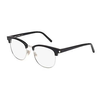 Saint Laurent SL 104 001 Black-Silver Glasses
