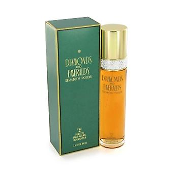 Diamantes e esmeraldas por Elizabeth Taylor 50 ml Eau De Toilette Spray