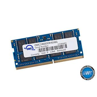 OWC 16GB 2400MHZ DDR4 SO-DIMM PC4-19200 Memory Update for 2017 iMac 27 Inches with Retina 5K Display, (OWC2400DDR4S16G)