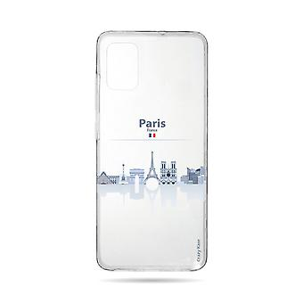 Hull For Samsung Galaxy A71 Flexible Monuments From Paris
