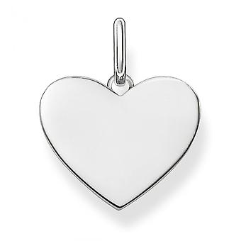 Thomas Sabo Love Bridge Silver Heart Pendant