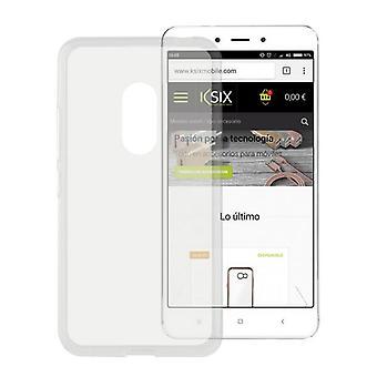 Cubierta móvil Xiaomi Redmi 4a KSIX Flex TPU Transparente