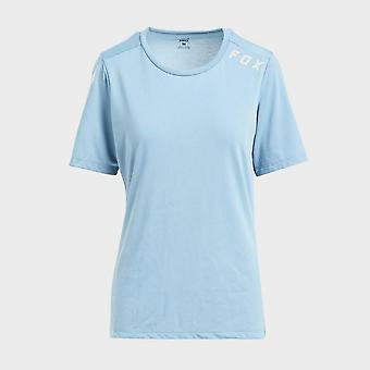 New Fox Women's Ranger drirelease® Short Sleeve Jersey Blue