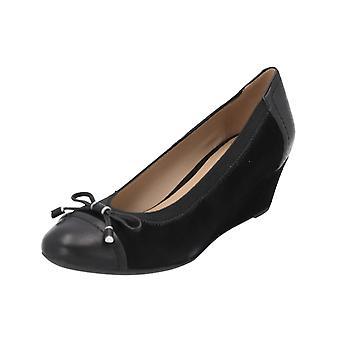 Geox D FLORALIE A Women's Boots Black Lace-Up Boots Winter