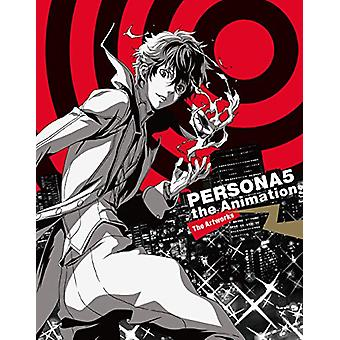 Persona 5 - The Animation Material Book by PIE International - 9784756