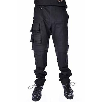 Chemical Black Glitch Pants