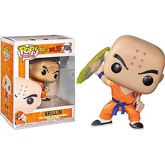 Dragon Ball Z Krillin with Destructo Disc Pop! Vinyl