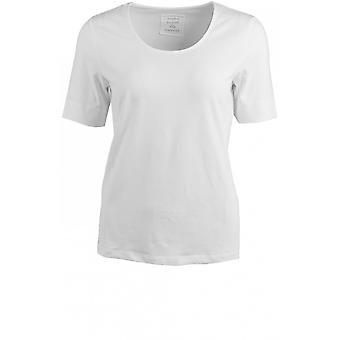 Bianca White Jersey T-Shirt