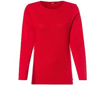Olsen Red Knit Jumper