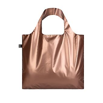 Loqi Women's Metallic Matte Rose- Bag