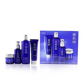 Sekkisei Best Selection Set: Medicated Sekkisei 360ml + Sekkisei Emulsion 140ml + Washing Foam 130g + Herbal Gel 80g 4pcs